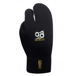 Перчатки Аквадискавери Трехпалые SuperStretch титан 7 мм