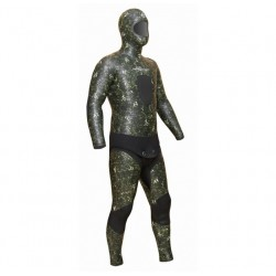 Инд. пошив гидрокостюма ELITE Camoskin green 5мм