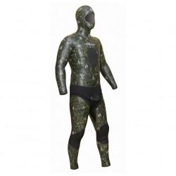 Инд. пошив гидрокостюма ELITE Camoskin green 7мм