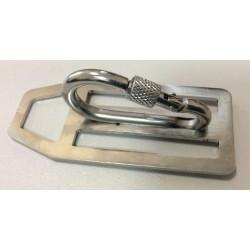 D-кольцо Dive-ohota + карабин с закруткой
