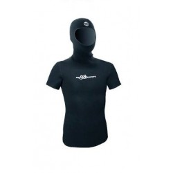 Майка АкваДискавери со шлемом и коротким рукавом, нейлон/открытая пора 3мм