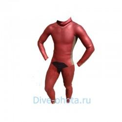 Инд. пошив гидрокостюма Фридайвер 1,5мм (YAMAMOTO 45-LL) голый/лайкра