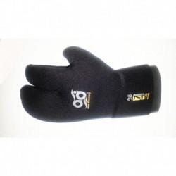 Перчатки АкваДискавери Трехпалые Double Cuff 7мм