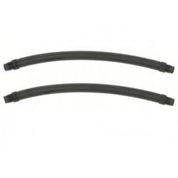 Тяги парные Salvimar 12см Ф 16,5мм, черные, резьбовые