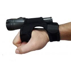 Перчатка с креплением для фонаря