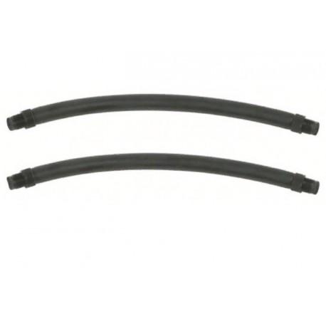 Тяги парные Salvimar 10см Ф 16,5мм, черные, резьбовые