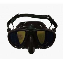 Маска для подводного плавания BS Diver Ghost просветленные стекла