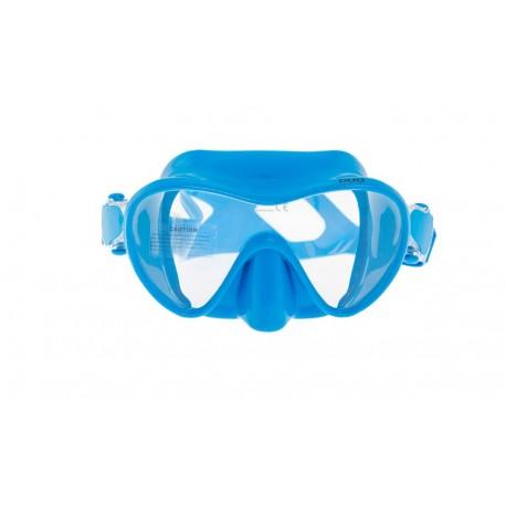 Маска Marlin FRAMELESS DUO голубая для подводного плавания