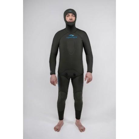 Гидрокостюм Aquateam Hunter Pro oliva 7мм